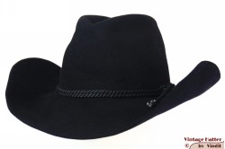 Western hat Chudárek black brushed felt 57