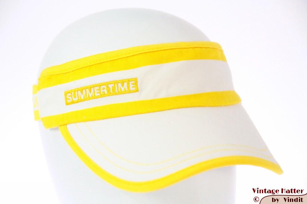 Visor Summertime white-yellow 52-59