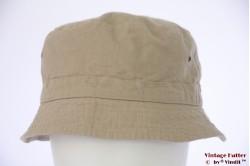 Zomer safari bucket hoed Hawkins zand beige katoen 59 [nieuw]