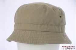Zomer safari bucket hoed Hawkins grijzig groen katoen 60 [nieuw]