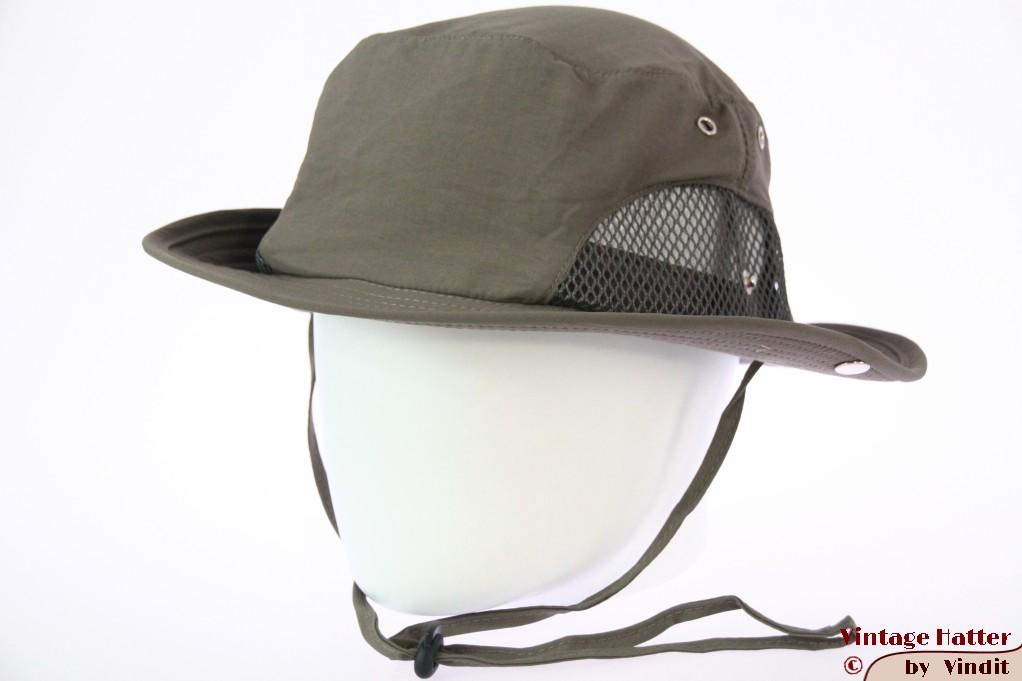 Summer safari hat Hawkins greyish green with mesh 61 (XXL) [new]
