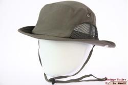Zomer safari hoed Hawkins grijzig groen met mesh 61 (XXL) [nieuw]