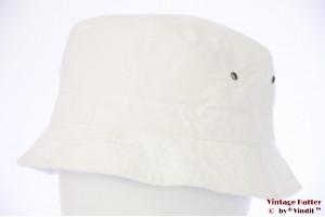 Summer safari buckethat Hawkins white cotton 60 [new]