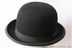 Bowler Hat black Wegener 53