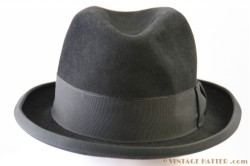 Homburg Haarhut black 56