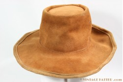 Australian hat light brown suede 56