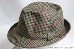 Fisherman hat Wegener grey green wool 56