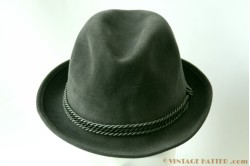 Fedora Alpina dark grey 56