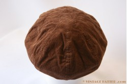 Cap brown corduroy 53 [new]
