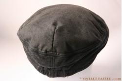 Flatcap Hawkins dark grey 57 [new]