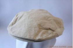 Flatcap Angelo Litrico ecru linnen summer 56
