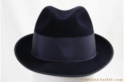 Wegener semi-Homburg velor dark blue 55