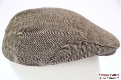 Flatcap Hawkins herringbone brown 56 [new]