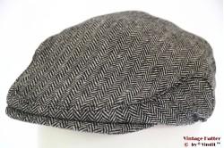 Flatcap Hawkins herringbone grey 56 [new]