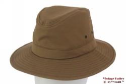 Outdoor hoed Hawkins bruin katoen 59 [nieuw]