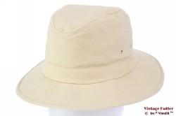 Outdoor hoed Hawkins crème wit katoen 60 [nieuw]