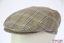 Flatcap BestQuality grey 55-56
