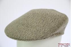 Flatcap beige grey 59