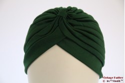 Turban dark green stretch 53-59 [new]