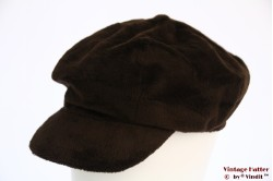 Balloon cap brown velvet 54-57 [new]