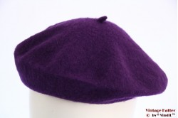 Alpino beret purple woven S 53-57 [new]