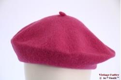 Alpino Baret magenta pink woven 54-59 [new]