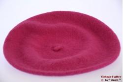 Alpino Baret magenta roze geweven 54-59 [nieuw]