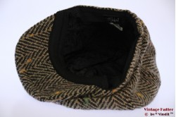 Paperboy pet Hawkins dik tweed bruin roze vissengraat 60 [nieuw]