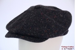 Paperboy cap Hawkins greyish blue tweed 61 [new]