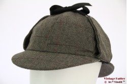 Deerstalker Sherlock Holmes cap grey 61 [new]