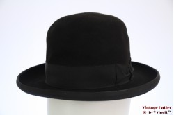 Bowler-type hat AB black velor 56
