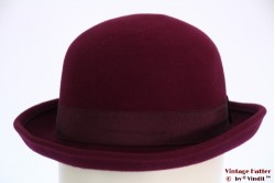 Bowler softtop burgundy purple 56