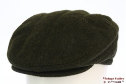 Flatcap Bittner green loden with earwarmer 58 [new]