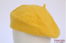 Alpino Baret yellow woven 53-59 [new]