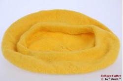 Alpino Baret yellow woven 53-59 [new]