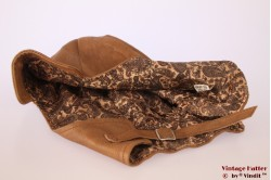 Aviator cap caramel leather 55-60 [new]