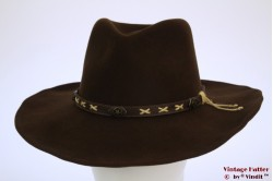 Outdoor Australian hat Scippis brown felt 59 [as new]