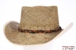 Australian western hat Hawkins ventilating straw 54-61 [new]
