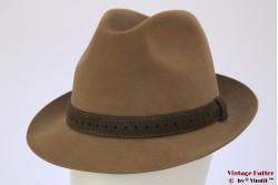 Fedora Wegener beige brown 56,5