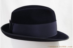 Wegener semi-Homburg velor dark blue 55