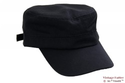 Army cap black cotton 53-60 [new]