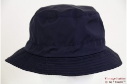 Bush hat shower resistant dark blue with cord 58 [new]