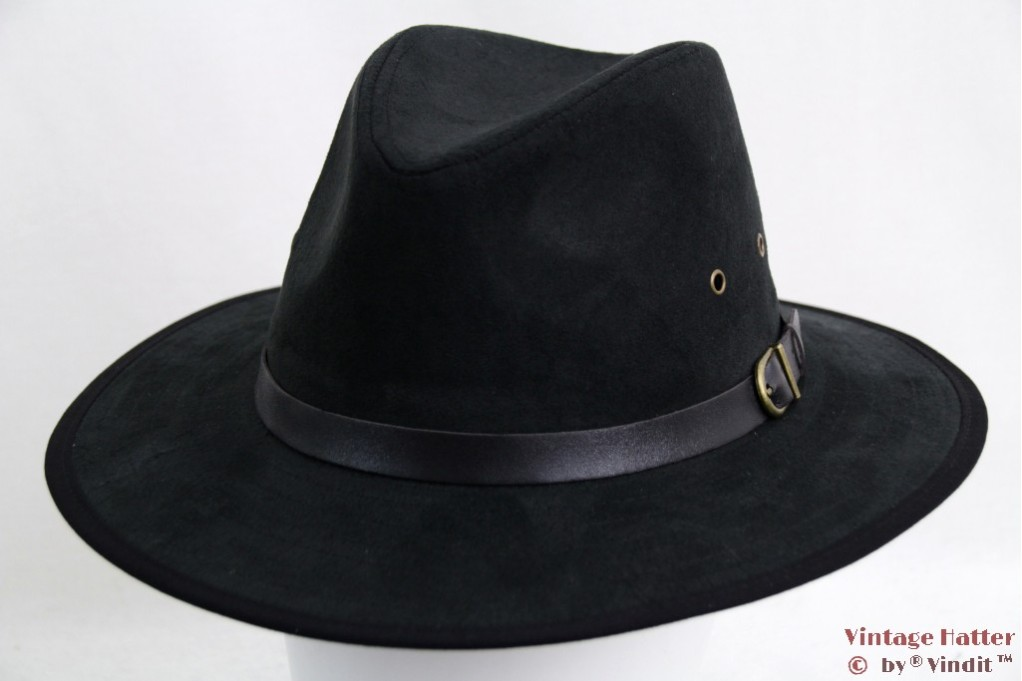 Outdoor hat Hawkins faux suede black 56,5 [new]