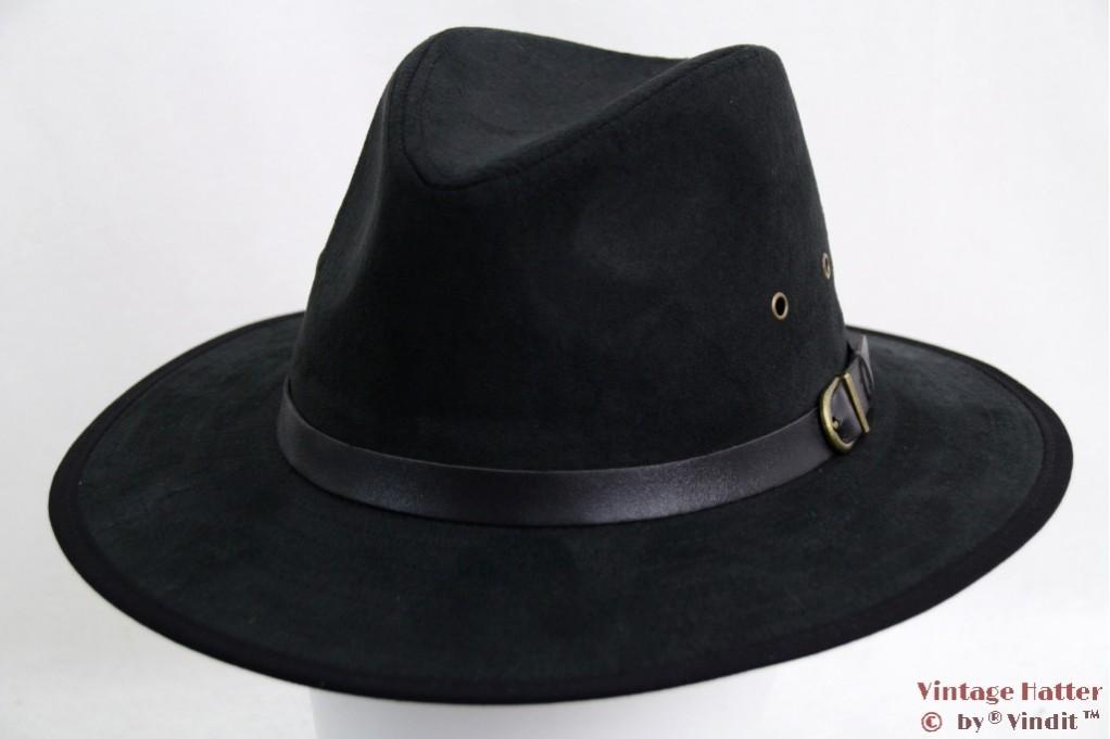 Outdoor hat Hawkins faux suede black 57,5 [new]