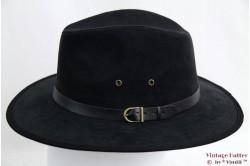 Outdoor hat Hawkins faux suede black 56,5 [new]