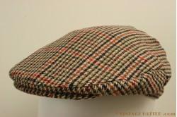 Flatcap Hawkins tweed red-brown 60 [new]