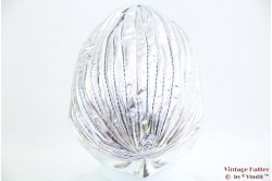 Tulband zilver stretch 54-58 [nieuw]