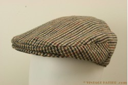 Flatcap Hawkins tweed green-brown 61 [new]