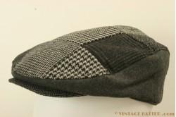 Flatcap Hawkins patchwork greys 59 [new]