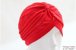 Turban red stretch 53 - 59 [new]